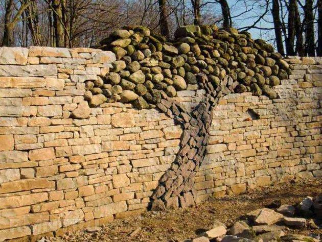 Забор из камня: фото, инструкция по установке. Как строить забор из камня. Как правильно и быстро возвести забор из камня вокруг