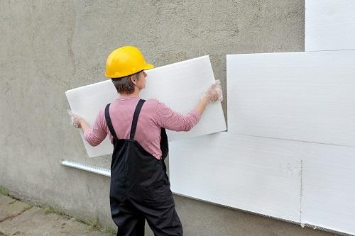 Утепление здания полистиролом - пошаговая инструкция
