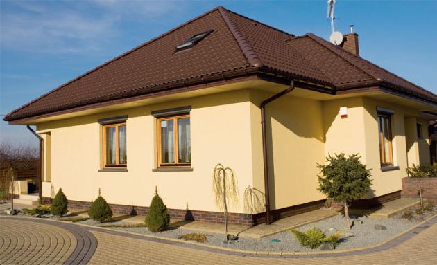 Отделка фасада домов в москве