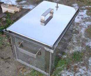 Коптильня горячего копчения из металла своими руками фото 813