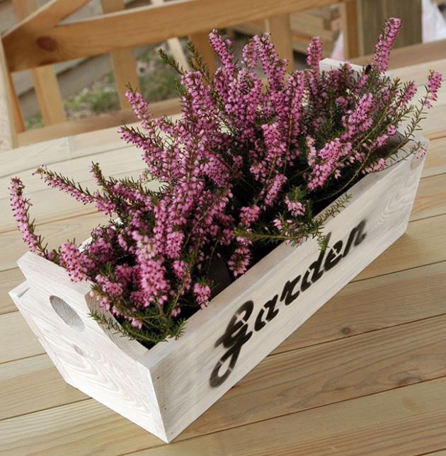 Красивый и необычный цветочный контейнер своими руками 66