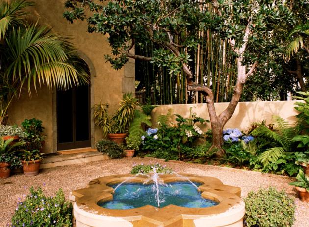Красивый сад и дворик своими руками на фото