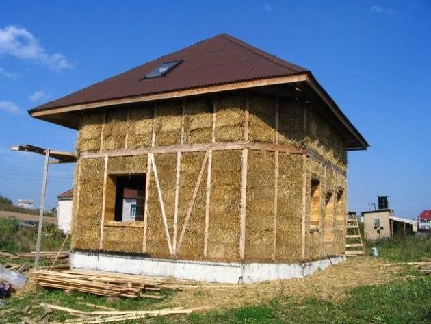 Дом из самана. Особенности и технология строительства