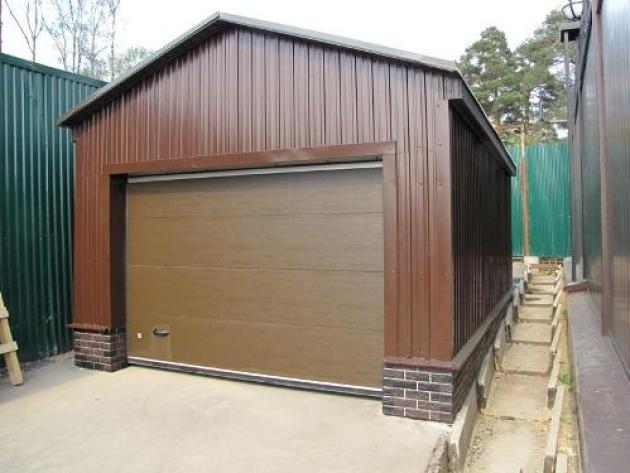 Из какого металла делают гаражи
