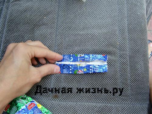 Чтобы начать плетение из конфетных фантиков запаситесь сначала самими фантиками.  Я использовала для плетения фантики...