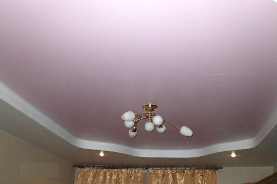 Подвесной потолок из гипсокартона своими руками фото